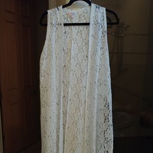 Lularoe white medium joy